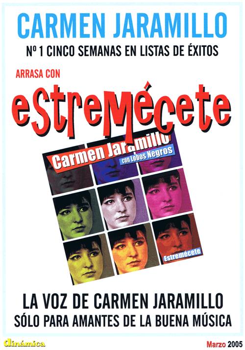 Carmen Jaramillo publicidad revista Dinámica